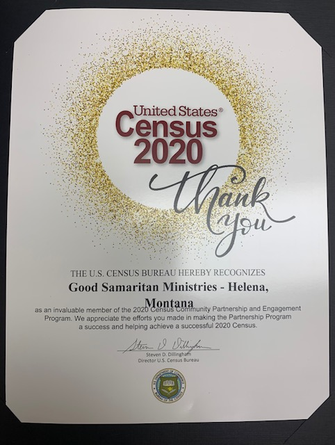 United States 2020 Census Thank You!!