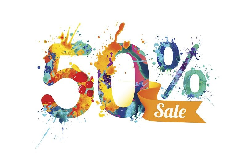 HALF OFF SALE TODAY TOMORROW AND SUNDAY!!!